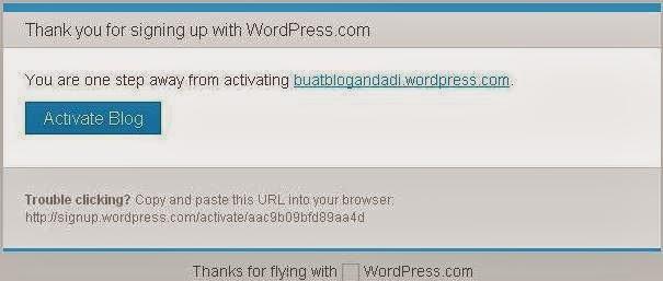 Cara Membuat Blog di WordPress Gratis Lengkap Pemula